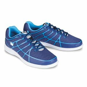 Brunswick Aura Chaussures de Bowling pour Femme, Femme, BRU5830521665, Navy/Baby, Size 6.5