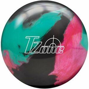 Brunswick Balle de bowling TZone – Toutes les couleurs – Cosmic dans tous les poids (Razzle Dazzle, 8 LBS)