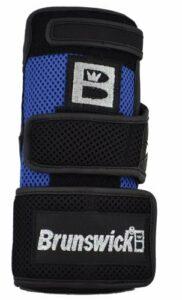 Brunswick Ulti Gant de Poignet pour Bowling Noir Noir/Bleu Roi XL/gaucher