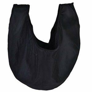 Sac de Boule de Bowling Durable Pliable, Pochette de Haute qualité, Sports Pratiques pour l'équipement de Gymnastique(Black)