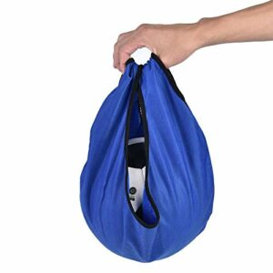 Sac de Boule de Bowling Durable Pliable, Pochette de Haute qualité, Sports Pratiques pour l'équipement de Gymnastique(Blue)