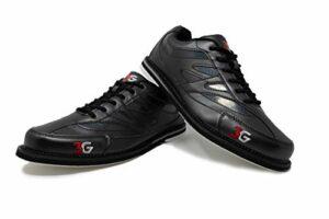 3G Cruze Chaussures de bowling unisexes pour droitiers et gauchers 3 couleurs Pointure 36-46 – Noir – Noir , 39 EU