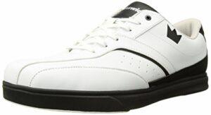 Brunswick Vapor Chaussures de Bowling pour Homme Blanc/Noir, Homme, 58201110 070, Blanc/Noir, 6.5 UK
