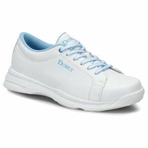 Dexter Raquel V Chaussures de Bowling pour Femme Blanc/Bleu 42, Femme, DEXDW8099, Blanc/Bleu, 7 UK
