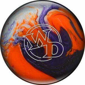 Blanc Dot Cristal de boule de bowling pour Coucher de soleil, Columbia 300 White Dot Crystal Sunset, Purple/Orange/White