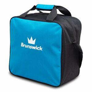 Brunswick TZone Single Tote Sac de survie 1 ballon de bowling – Bleu – bleu clair, 1