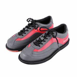 Chaussure De Bowling, Bols À Lacets Baskets Chaussures Chaussures De Forme Léger Fitness Sneakers Athlétiques,Gris,40
