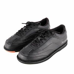 Chaussures de Bols pour Hommes, Bowling léger Baskers Fashion Sneakers de Marche en Plein air Respirant en Plein air,Noir,43
