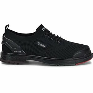 Dexter The 9 St Black Chaussures de Bowling pour Homme, Homme, DP00009012W-130, Noir, 12.5 UK