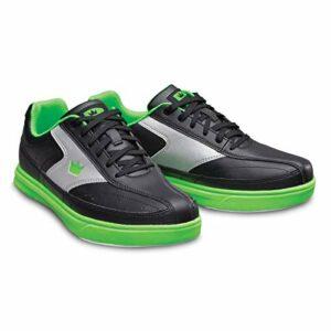Brunswick Renegade Chaussures de bowling pour homme et femme pour droitiers et gauchers 4 couleurs Pointure 38-47 – Multicolore – Noir fluo., 43.5 EU