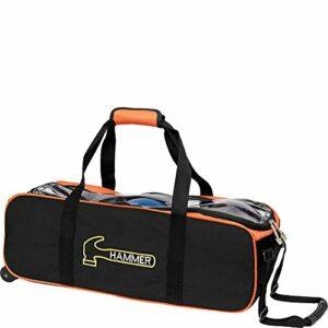 Hammer Premium Sac de bowling triple Noir/orange