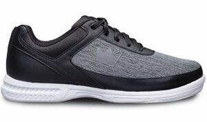 Brunswick Chaussures de bowling Frenzy pour débutants et confirmés en 3 tailles 38-47 – Noir – Statique, 41 EU