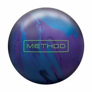 Brunswick Method Solid, mixte adulte, Brunswick Method Solid Bowling Ball- Cosmic Blue/Purple/Black 15lbs, Blue/Purple/Black, 15