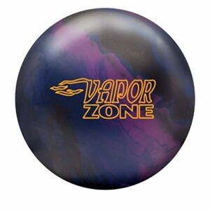 Brunswick Vapor Zone Boule de bowling solide Prune/bleu marine/noir, mixte adulte, Brunswick Vapor Zone Solid Bowling Ball- Plum/Navy/Black 12lbs, Plum/Navy/Black, 12