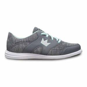BRUNWICK , Chaussures de Bowling pour Femme – – Gey/Mint, 39 EU