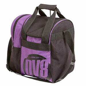 DV8Tactic Sac de Bowling Simple–Nombreuses Couleurs Disponibles, Violet