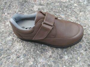 Emsmorn Freestyle Premier Chaussures de bowling à Velcro pour homme Marron clair