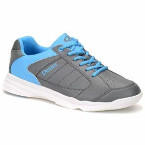 Dexter Bowling Mens Shoes-Grey/Blue, Dexter Ricky IV Chaussures de Bowling pour Homme Gris/Bleu, 6.5 US