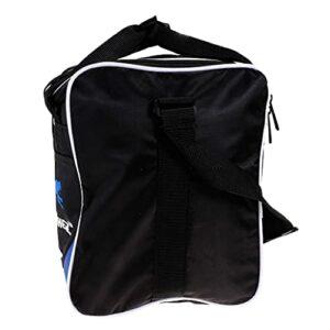 Hellery Sac de Bowling à Glissière à Double Sens, Pratique à Utiliser – Noir Bleu, 28×23.5x31cm